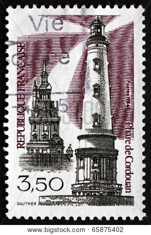 Postage Stamp France 1984 Cordouan Lighthouse