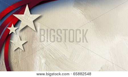 Graphic abstract American Stars and stripes