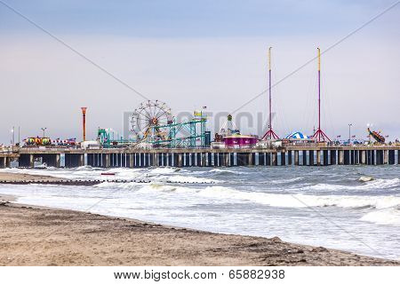 Amuesment Park At Steel Pier Atlantic City, Nj