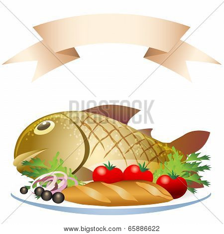 Prepared Fish With Loaf
