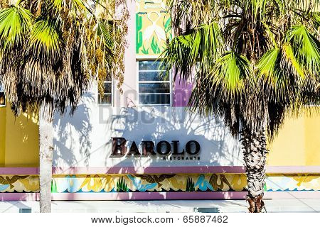 Barolo Hotel And Restaurant T Ocean Drive In Miami Beach