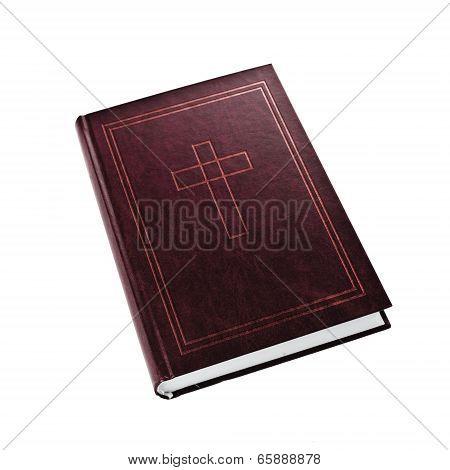 Holy Bible On White Background