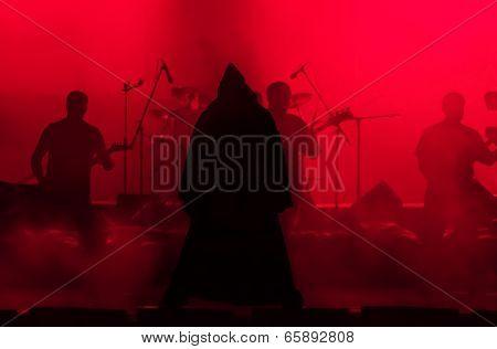 Rock Singer In The Image Of Evil