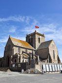 picture of saint-nicolas  - 17th century church Saint Nicolas at Barfleur - JPG