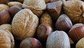 image of brazil nut  - Mixed nut close - JPG
