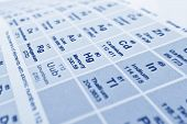 image of periodic table elements  - periodic table chart of elements in chemistry - JPG
