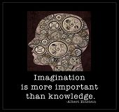 pic of einstein  - Imagination  - JPG