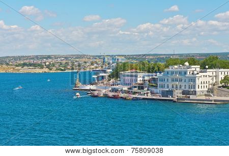 Embankment Of Sevastopol City