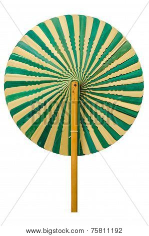 Talipot Palm Leaves Fan