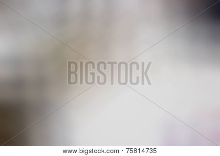 The Blurry Image Of Black,white And Gray Color Abstract