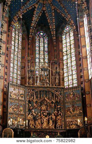 Mariacki Altar in Krakow