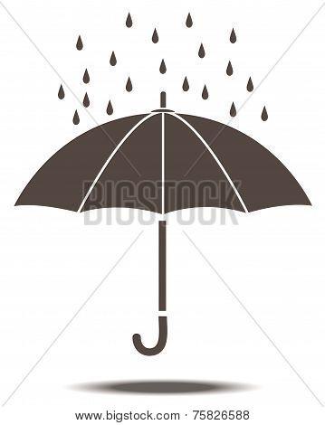 Umbrella In Vector