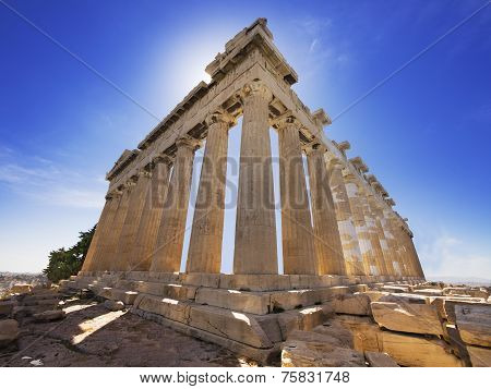 Parthenon temple, Athens, Greece