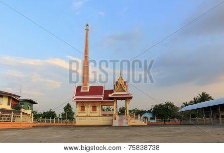 crematory at Wat Sukhan Tharam