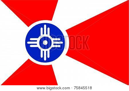 Flag of Wichita Kansas