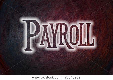Payroll Concept Text