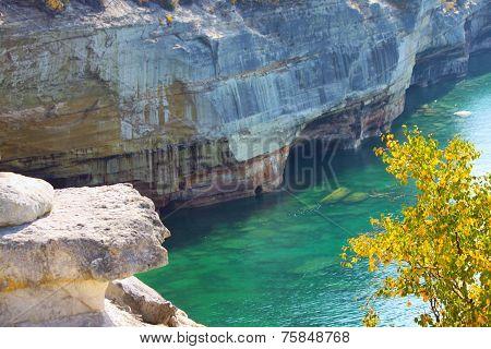 Lake Superior at Pictured Rocks