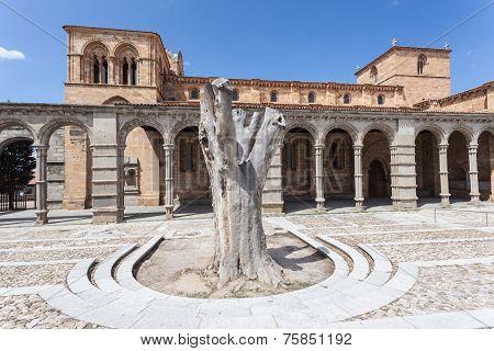 San Vicente Basilica In Avila