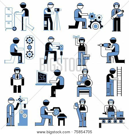 service people icons
