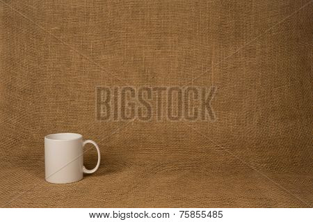 Coffee Mug Background - White Mug