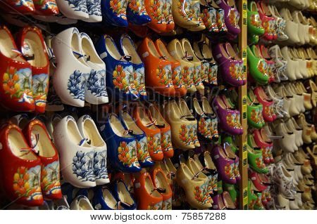 Traditional Wooden Shoes - Glogs - Holland