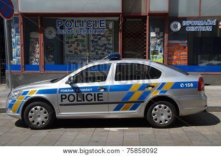 Czech Police car - Skoda Octavia