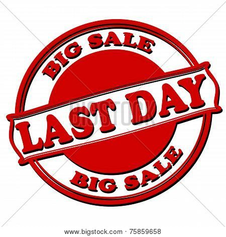 Last Day Big Sale