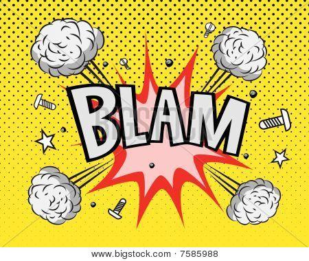 BLAM explosion