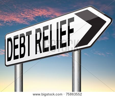 debt relief after bankruptcy caused by credit or housing bubbles restructuring finance after economic or bank crisis