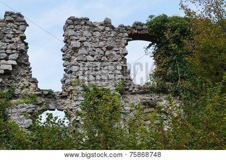 Ruins of Soteska castle, Slovenia