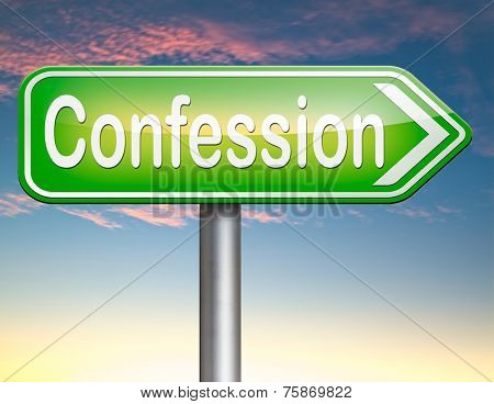 confession plea guilty as charged and confess crime testimony or proof truth