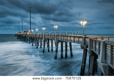 North Carolina Fishing Pier Nags Head Outer Banks