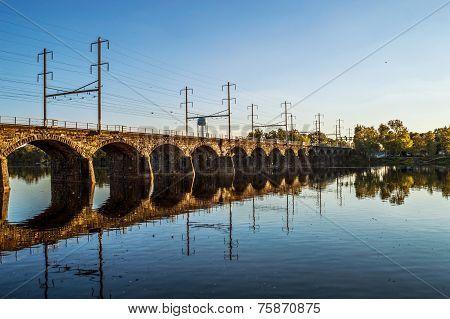 Morrisville Trenton Railroad Bridge
