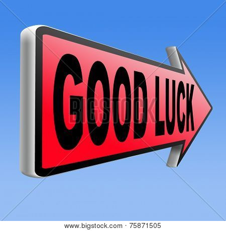 good luck change of fortune for the best it is you lucky day