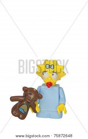 Maggie Simpson Minifigure