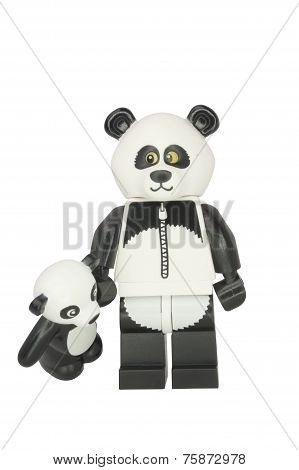 Panda Guy Minifigure