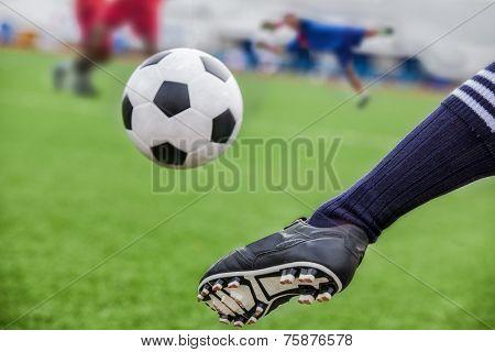 Kick Soccer Ball
