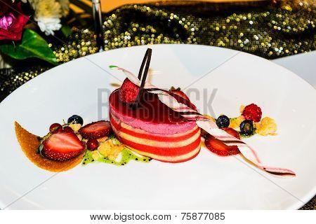 Strawberry Cake Decoration