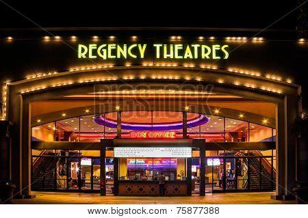 Regency Theaters Exterior