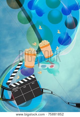 Cinema Or Movie Background