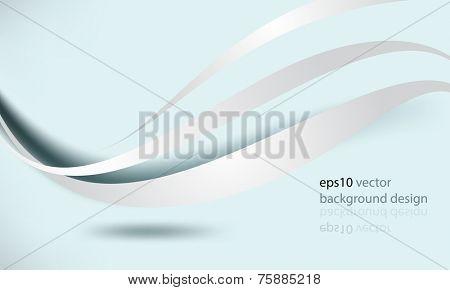 eps10 vector elegant wave elements business background