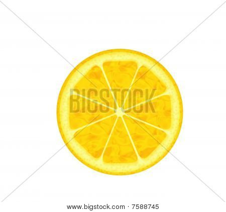 Computer Generated Lemon