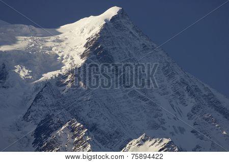 view of Aiguille du Gouter, 3863 m., Chamonix, Alps, France