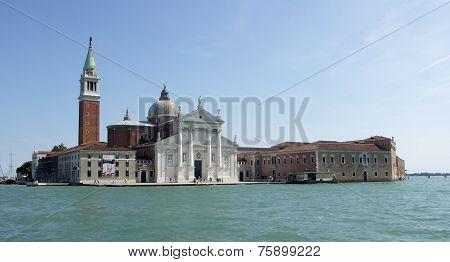 San Giorgio Maggiore taken from Lagoon.
