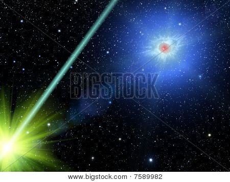 Sky  Stars  Constellation Comet