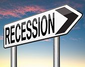 picture of stock market crash  - bank recession crisis in economy and stock crash economic and financial bank recession market crash    - JPG