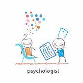 pic of psychologist  - psychologist with a folder - JPG