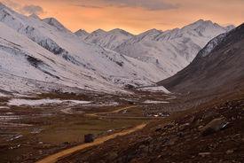 pic of karakoram  - evening time at Babusar Pass before winter season,Khagan Valley,Pakistan ** Note: Visible grain at 100%, best at smaller sizes - JPG