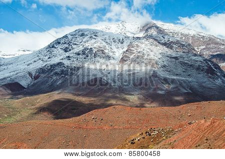 Mount Atlas In Morocco
