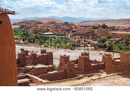 The Kasbah Ait Ben Haddou In Morocco